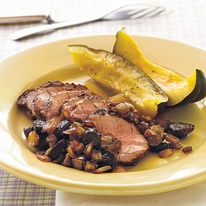 Pork Tenderloin with Balsamic Onion-Fig RelishRecipe