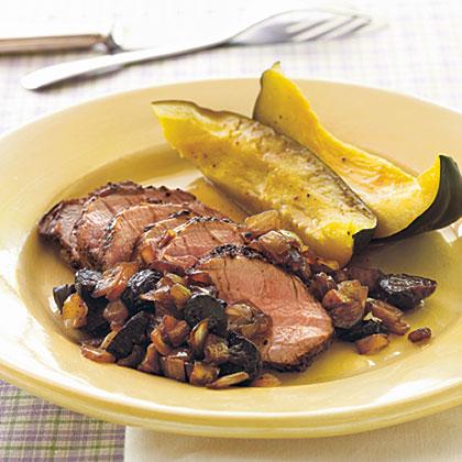 Pork loin fresh figs recipe