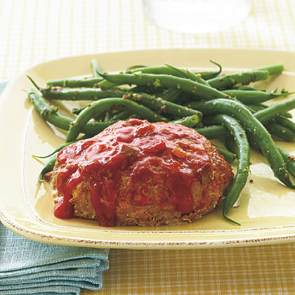 Individual Salsa Meat Loaves