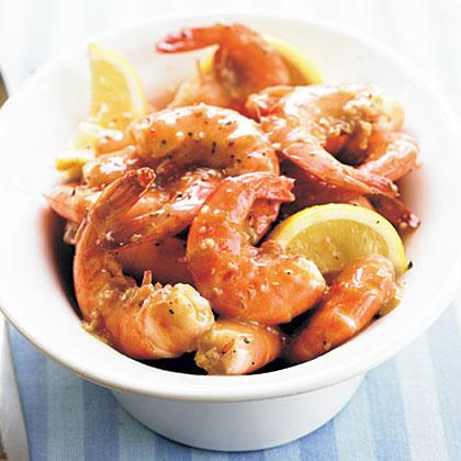 Skillet Grill Shrimp