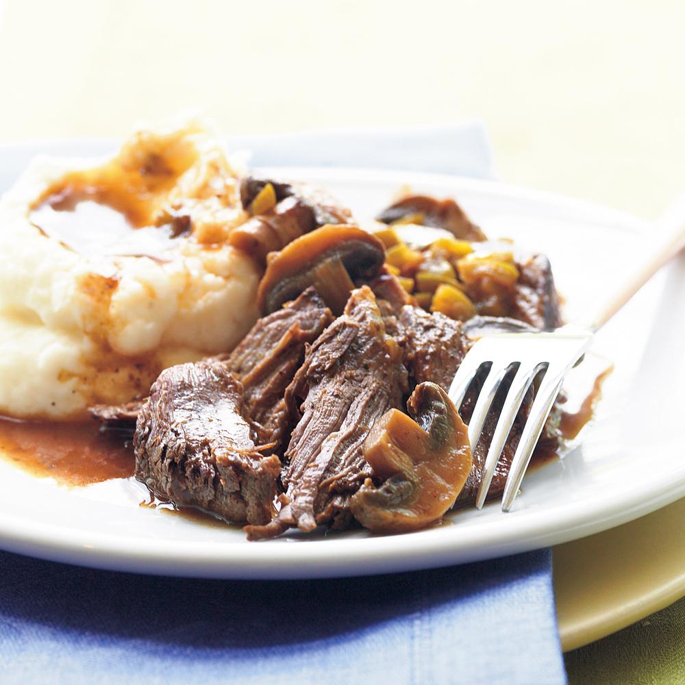 Slow-Cooker Beef Pot Roast