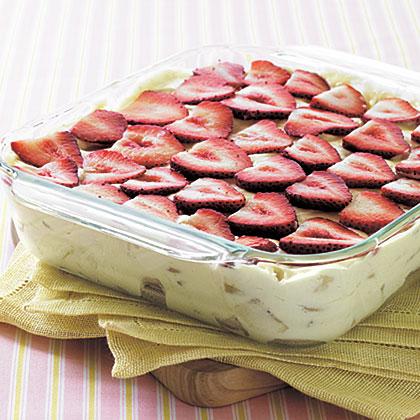 Strawberry-Banana Pudding