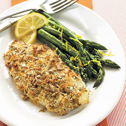 What's a good substitute for orange roughy?