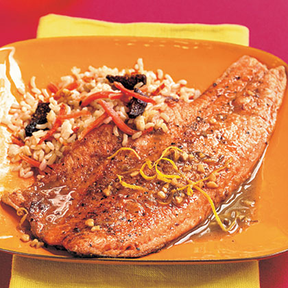 Pan-Seared Tarragon Trout