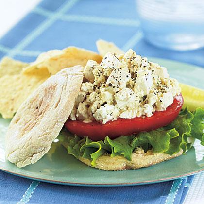 Tofu Salad Sandwiches
