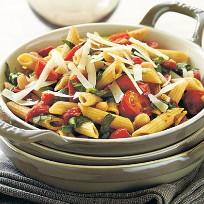 Tomato-Vegetable Pasta Recipe