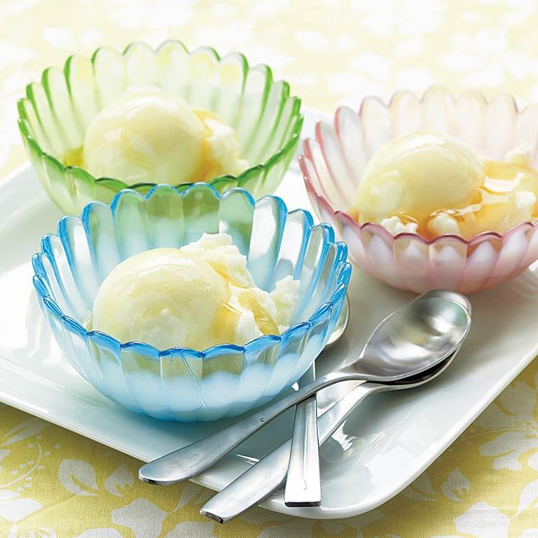 Wasabi Ice Cream with Honey
