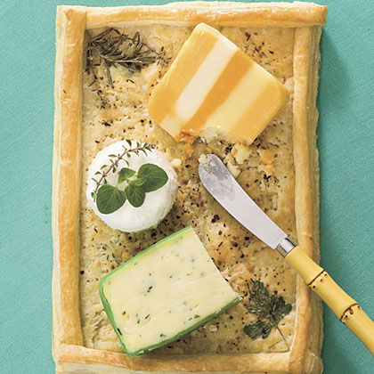 Puff Pastry Cheese Tray Recipe