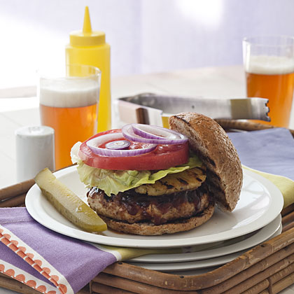 grilled-turkey-burgers Recipe