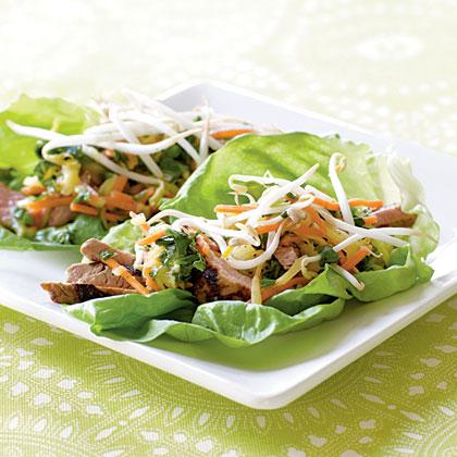 Grilled Pork Tenderloin with Green Mango