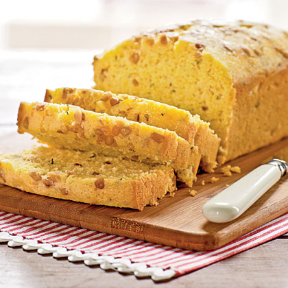 Lemon-Thyme Cornmeal Quick Bread