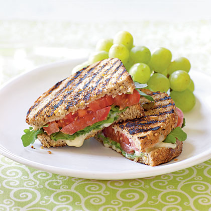 Grilled Tomato and Brie Sandwiches Recipe MyRecipes