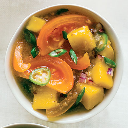 Fire and Fruit Yellow Tomato SalsaRecipe