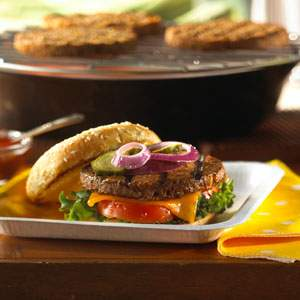 classic american burgers recipe myrecipes