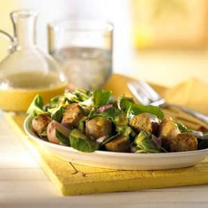 Morningstar Farm Sausage Arugula Recipe