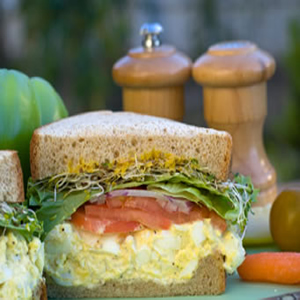 Eggland's Best Eggsalad Sandwich Recipe