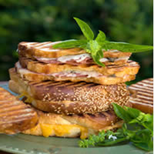 Eggland's Best Egg Sausage and Cheese Panini recipe