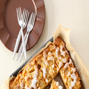 Eggland's Best Moist Apple Cake Recipe