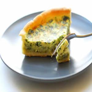 Eggland's Best Ricotta Spinach Quiche Recipe