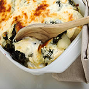 eggland's Best Spinach Bake Recipe