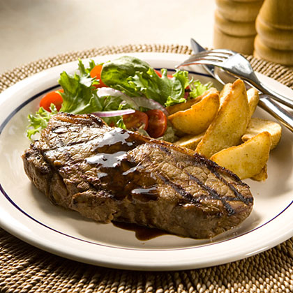 Classic Steak House-Marinated Steaks