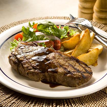 Classic Steak House-Marinated SteaksRecipe