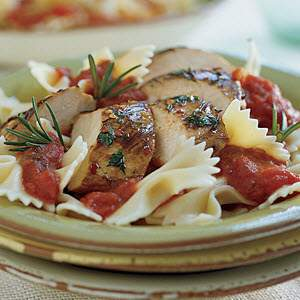Bertolli Farfalle Herb Marinated Grilled Chicken Recipe