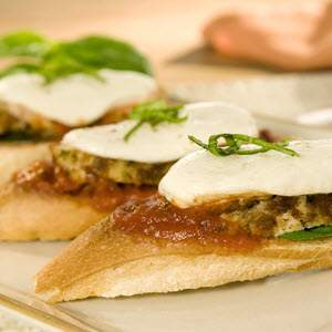 Bertolli Chicken Parmesan Bruschetta Recipe