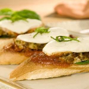 Bertolli Chicken Parmesan Bruschetta Recipe
