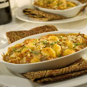 Bertolli Baked Gnocchi with Two Cheese & Walnuts Recipe