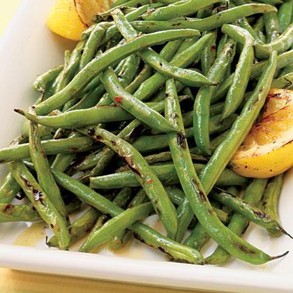 Green Beans with Lemon Oil