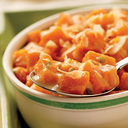 Coconut-Glazed Sweet Potatoes Recipe