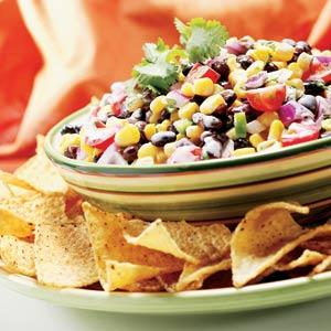 Hellmann's Mayonnaise Black Bean Corn Salsa Recipe