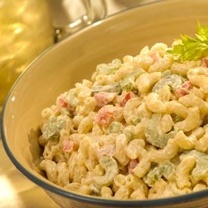 Basic pasta salad recipe mayo