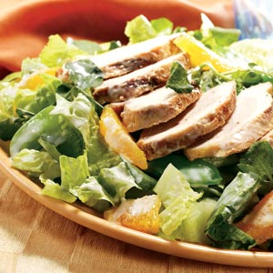 Hellmann's Mayonnaise Warm Ginger Chicken Salad Recipe