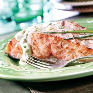 Hellmann's Mayonnaise Honey Mustard Salmon Recipe