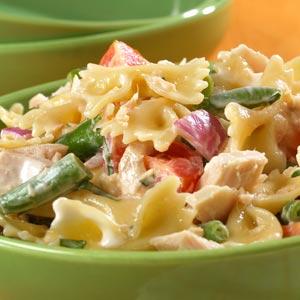 Hellmann's Mayonnaise Tuna Bowtie pasta salad Recipe