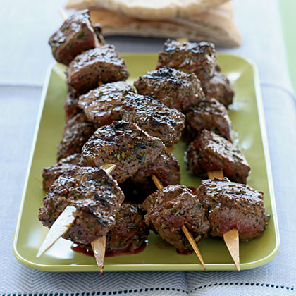 Bison Ribeye Kebabs