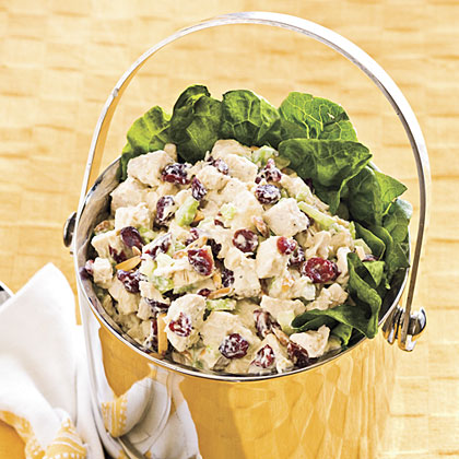 Cranberry-Almond Chicken SaladRecipe