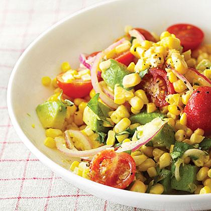 Fresh Corn and Avocado Salad