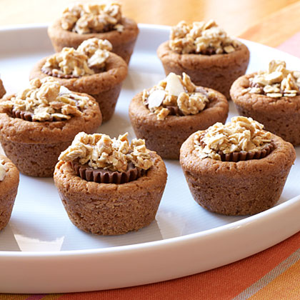 Double Peanut Butter Candy Bites with Granola Recipe