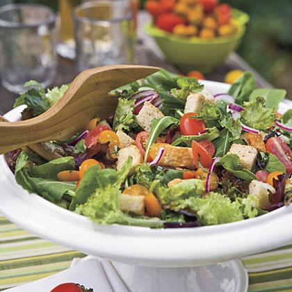 Tomato-Cucumber Bread Salad Recipe