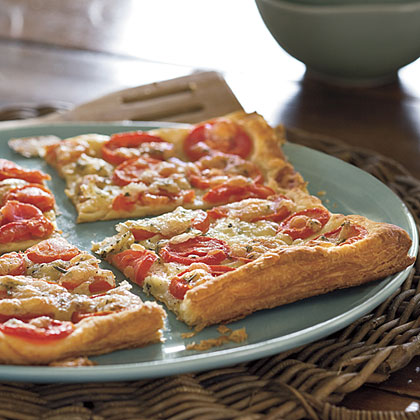 Grilled Tomato-Rosemary Tart