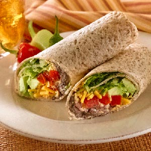 Hellmann's Mayonnaise Black Bean Wrap Recipe