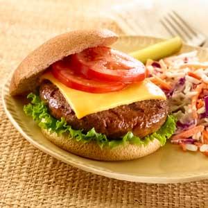 Hellmann's Mayonnaise Cheese Burger RecipeRecipe