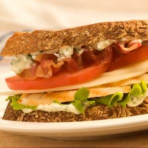 Hellmann's Mayonnaise chicken and basil sandwich Recipe