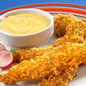 Hellmann's Mayonnaise Honey Mustard Chicken Fingers RecipeRecipe