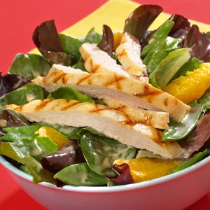 Hellmann's Mayonnaise Spice Spinach Chicken and Apple Salad Recipe