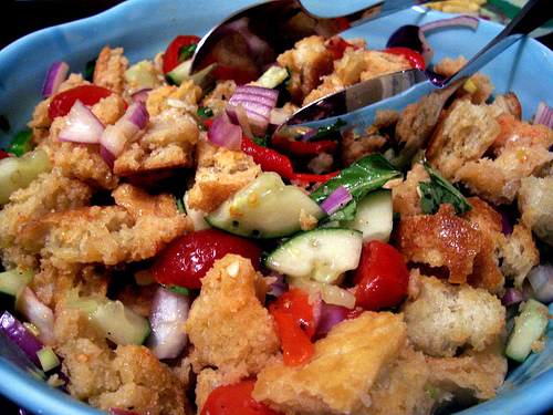 Celebrating Spring with Panzanella