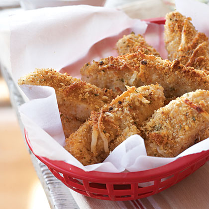 Oven-Baked Chicken Fingers